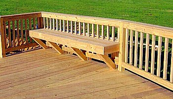 Deck bench - basic add on