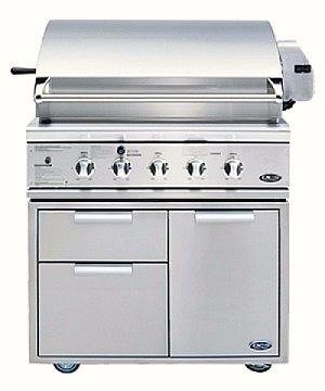 DCS BGB36 grill in cart