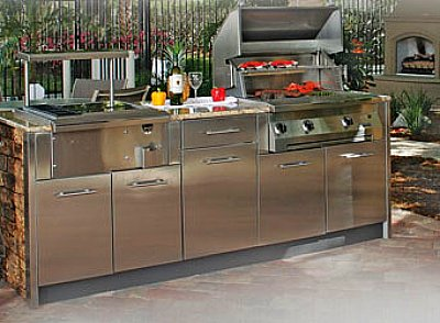 Stainless Steel Kitchen Cabinets. Stainless Steel Cabinet Doors ...