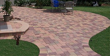 Pavers - brownish red