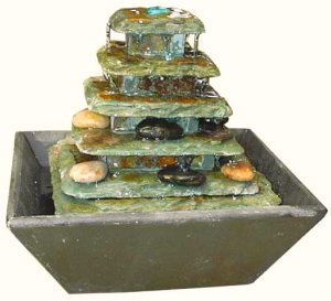 tabletop fountain