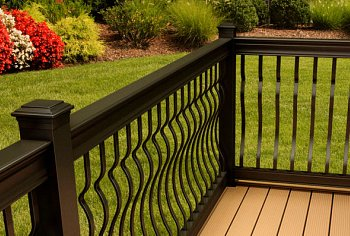 aluminum deck railing - architectural design