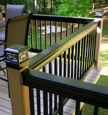 High Quality The Best Aluminum Deck Railing Adds Beauty, Value And Low Maintenance To  Your Ho