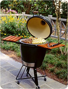 Big Green Egg rolling cart