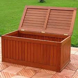 how to build a deck storage box