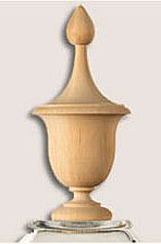 deck post cap - finial
