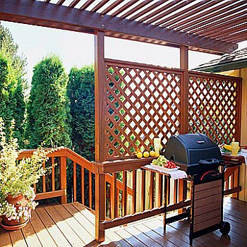 Deck Railing Lattice Panels