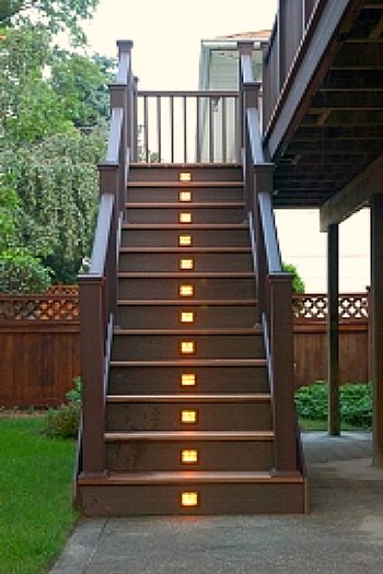 low voltage step lights