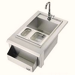 stainless steel outdoor sink