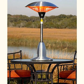 patio heater table top - Patio Heating Ideas
