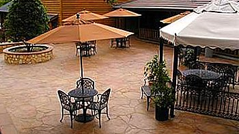 large patio