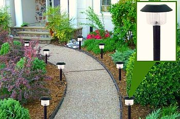 solar light walkway