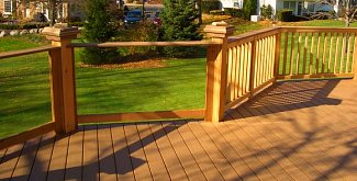 The best glass deck railing for your home - Glass and wood railing design ...