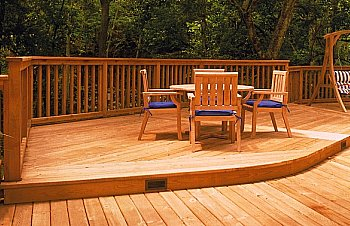 Deck Material Cedar