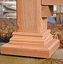 deck post skirt