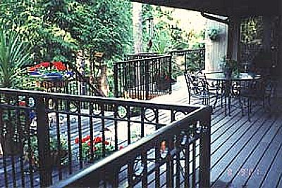 Deck Railing - aluminum decorative