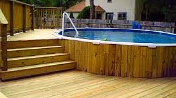 Pool Deck Integrated