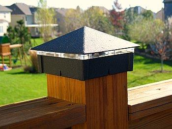 soalr light deck post